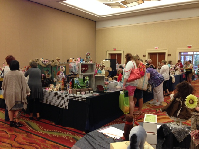 Conventions filled with like-minded doll obsessives are the best place to sell your wares.