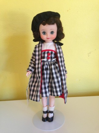 Robert's doll, now in my collection: Betsy McCall (1958)