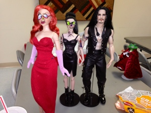 Our dolls love to dress up