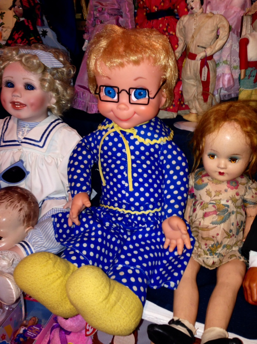 Antique dolls, little old ladies, and the best pulled pork ever
